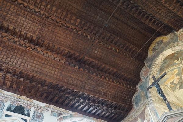サン・フェルモ教会 木製天井