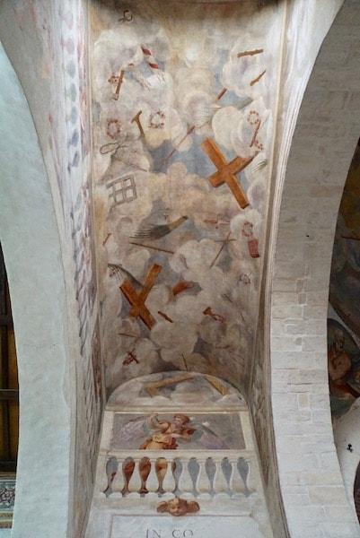 サント・ステファノ教会 天井