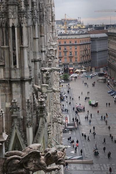 ミラノ大聖堂 ガーゴイル