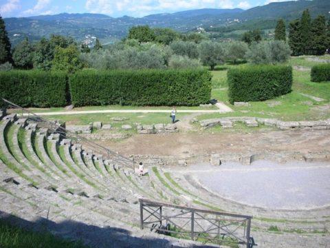 フィエーゾレ ローマ劇場