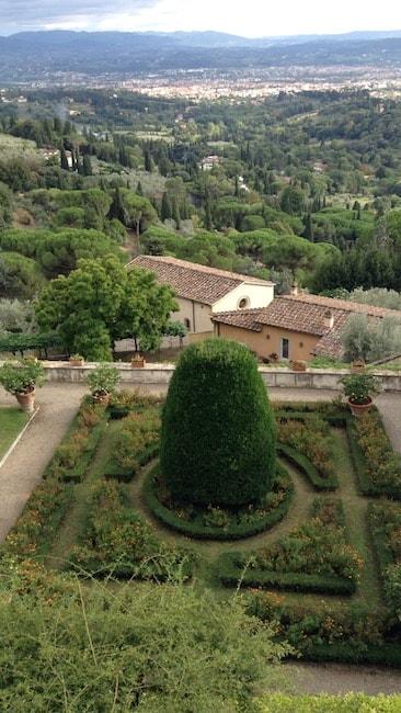 ヴィッラ・メディチのイタリア式庭園