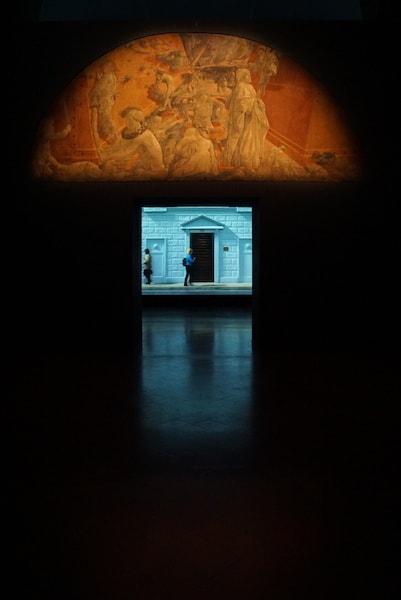 ストロッツィ宮殿 Bill Viola展