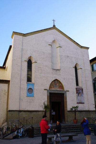 サンタンブロージョ教会 ファサード