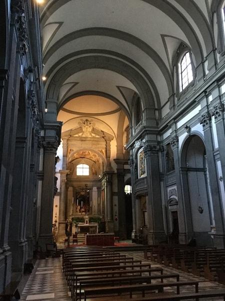 サンタ・フェリチタ教会 内部
