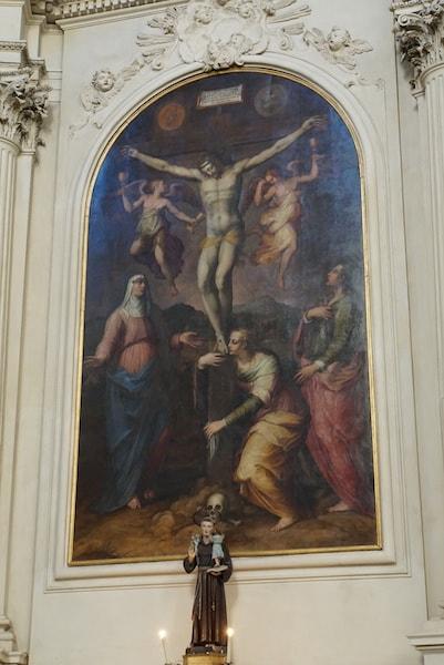 サンタ・マリア・デル・カルミネ教会 ヴァザーリ