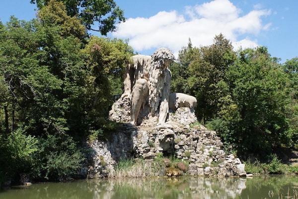 メディチ・デミドフ別荘 ジャンボローニャ アッペンニーノ