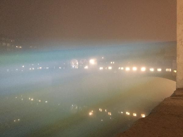 ヴェッキオ橋 ライティング