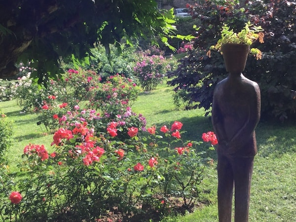 フィレンツェ バラ庭園