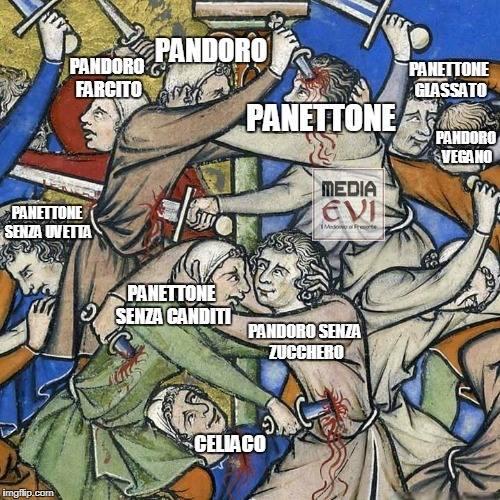 イタリア中世 パネットーネ パンドーロ