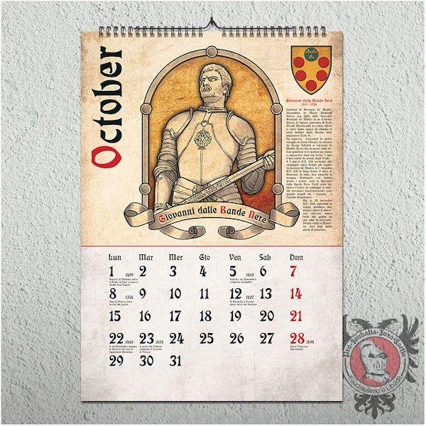 中世カレンダー ジョヴァンニ・ダッレ・バンデ・ネーレ