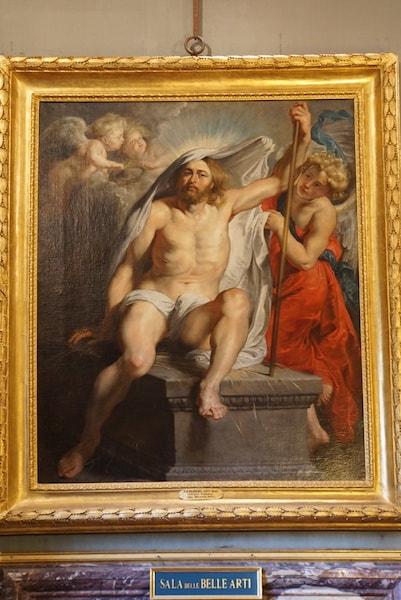 パラティーナ美術館 ルーベンス キリストの復活
