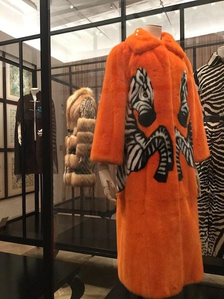 gucci garden  毛皮のコート