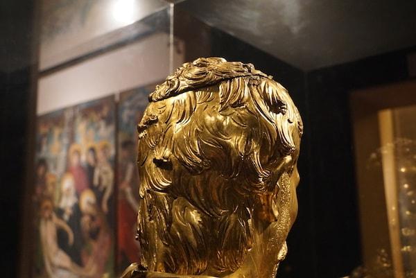 ピサ サン・マッテオ美術館 ドナテッロ 頭部