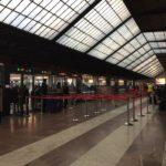 フィレンツェ、サンタ・マリア・ノヴェッラ駅のゲート起動