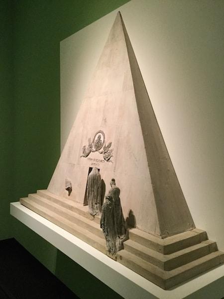 カーノヴァ作 ティツィアーノの墓 モデル