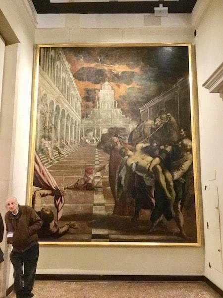 ヴェネツィア アカデミア美術館 ティントレット