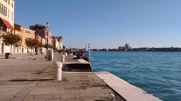 ヴェネツィアの海
