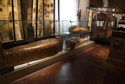 フィレンツェ考古学 棺