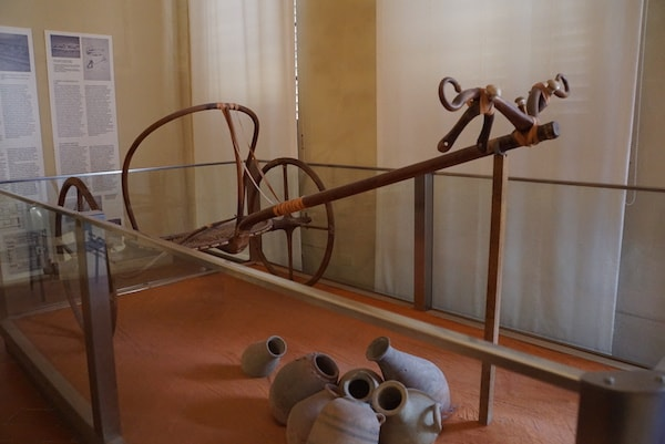 フィレンツェ考古学博物館 戦車