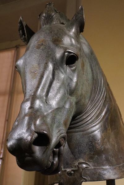 フィレンツェ考古学博物館 馬の頭部
