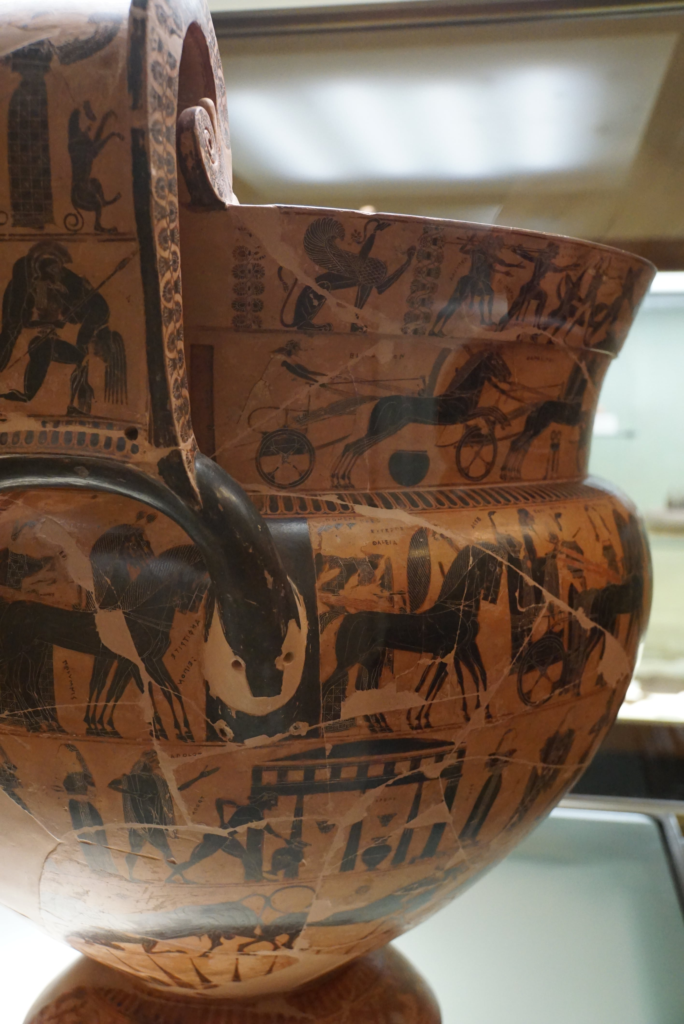 フィレンツェ考古学博物館 フランソワの壷