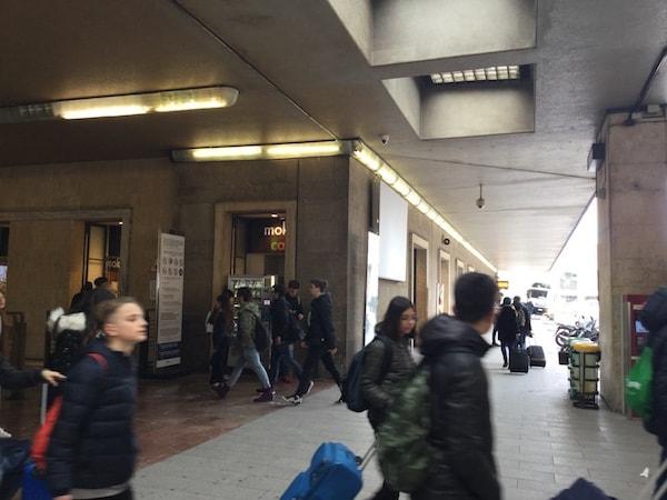 サンタ・マリア・ノヴェッラ駅 フィレンツェ バス乗り場へ