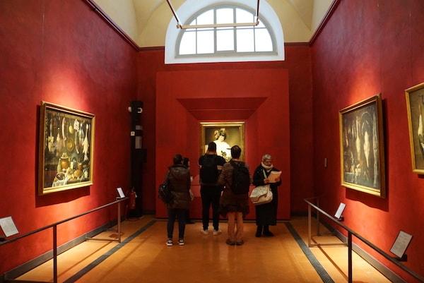 ウフィツィ美術館 カラヴァッジョ