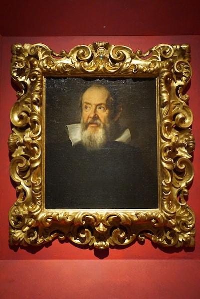 ウフィツィ美術館 ガリレオ 肖像画