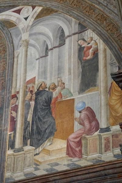 ツノ 聖母子像 ポルティナーリ礼拝堂