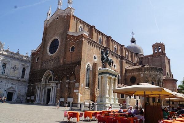 コッレーオーニ騎馬像 ヴェネツィア