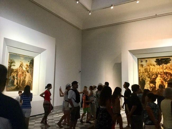 第一日曜日 無料 ウフィツィ美術館