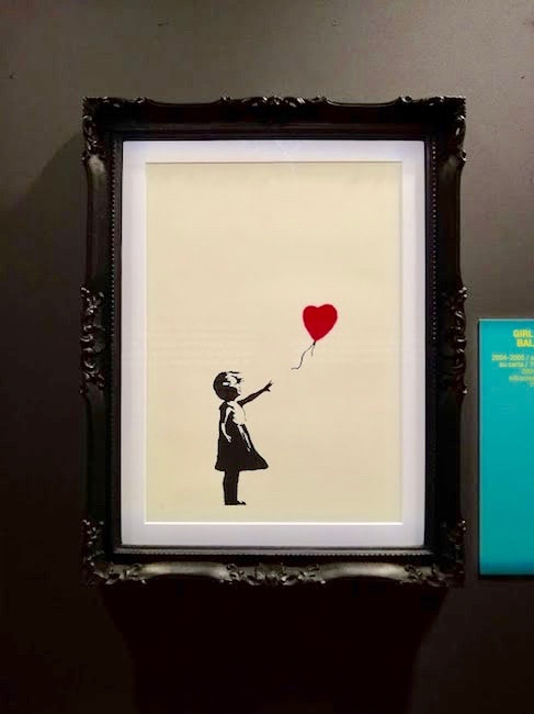balloon girl banksy