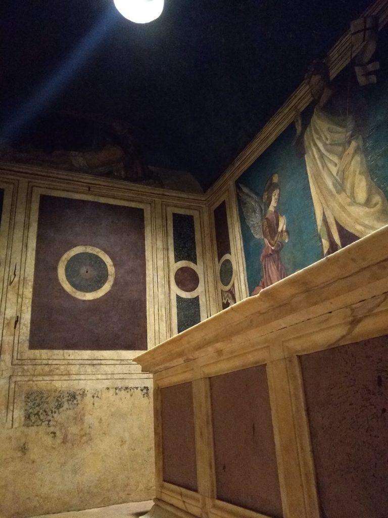 ルチェッライ礼拝堂 テンピエット内部