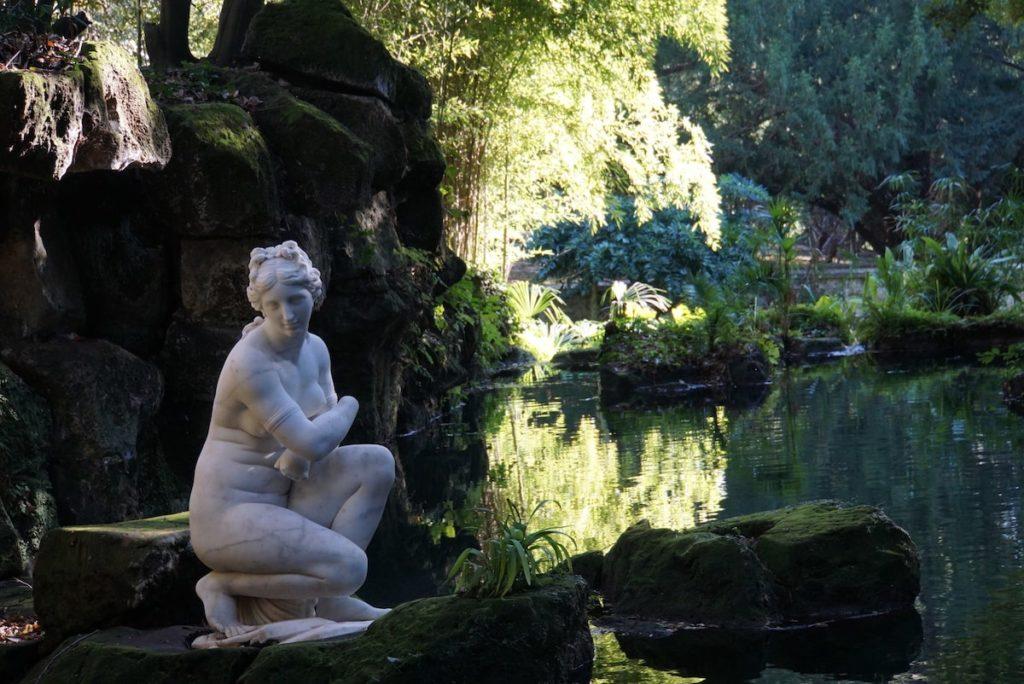 カゼルタ宮殿 イギリス庭園