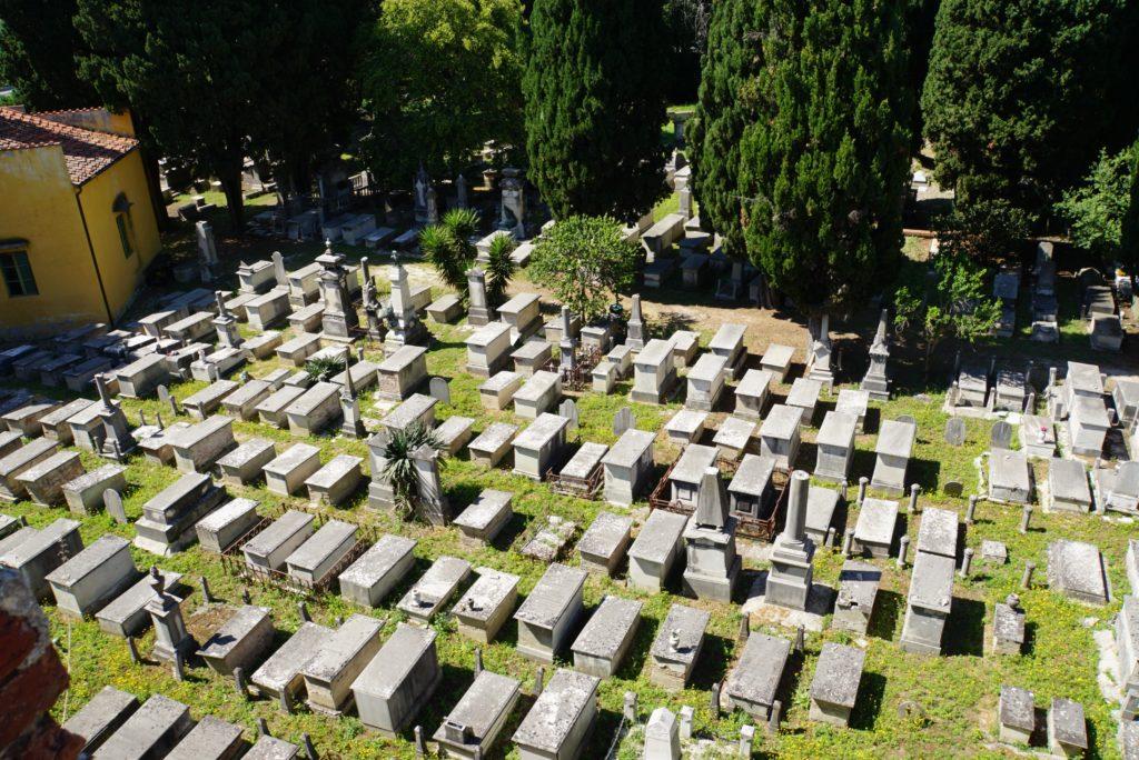 ユダヤの墓地