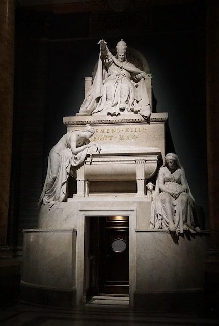 カノーヴァ 法王クレメンテ14世