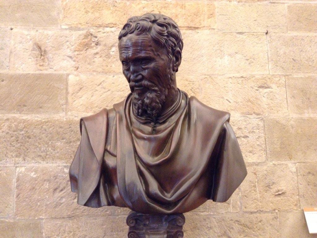 ミケランジェロの胸像 ダニエレ・ダ・ヴォルテッラ
