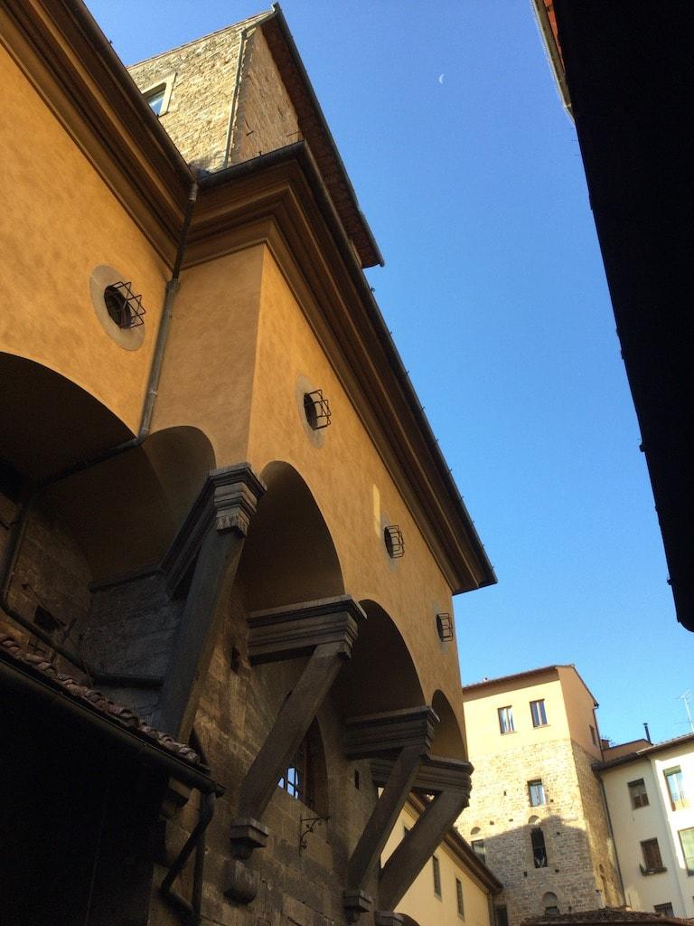 ヴァザーリの回廊 マンネッリの塔