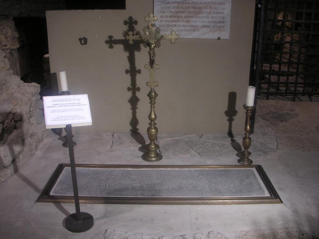 フィリッポ・ブルネッレスキの墓