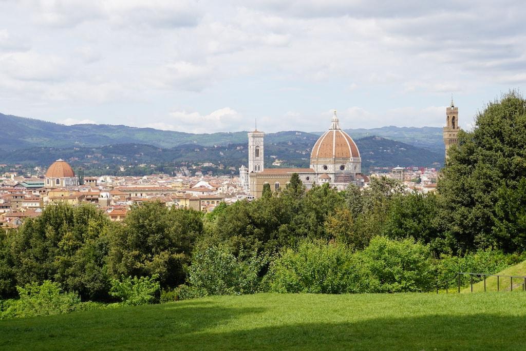 カフェハウスより フィレンツェの風景