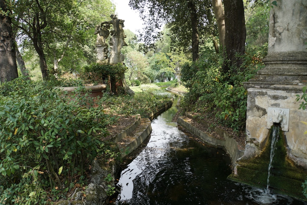 バルディーニ庭園  イギリス式庭園