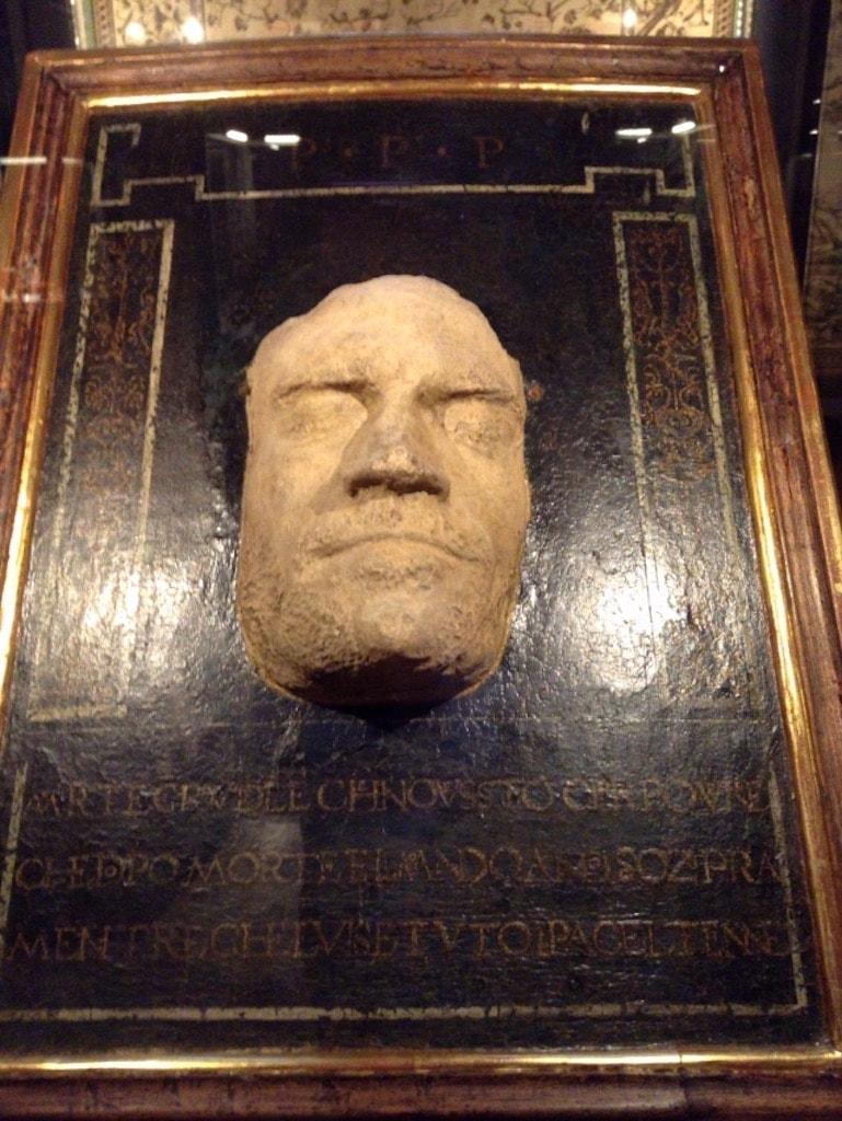 ロレンツォ・デ・メディチのデスマスク