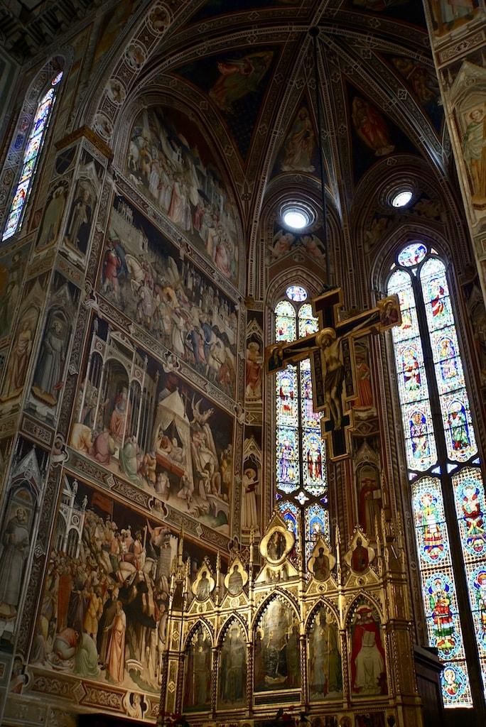 サンタ・クローチェ教会 主祭壇