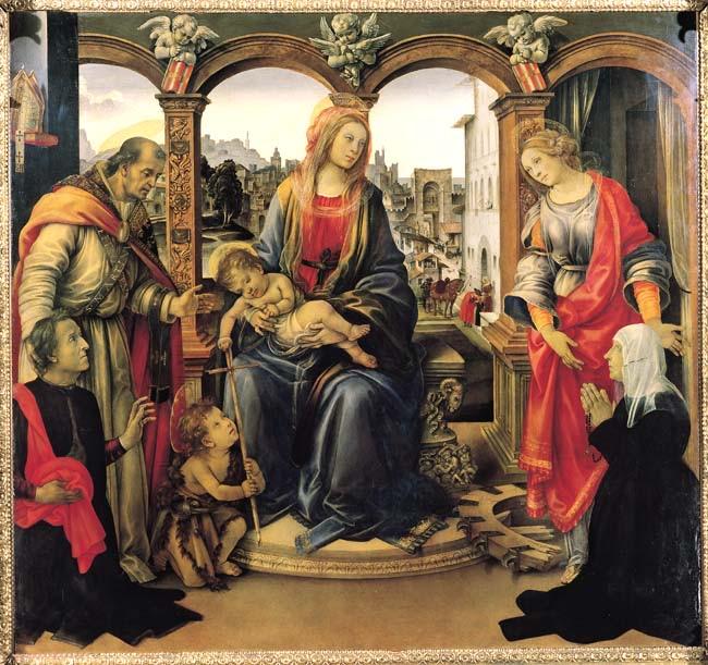 フィリッピーノ・リッピ ネルリの祭壇画