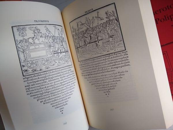Hypnerotomachia Poliphili (ヒュプネロトマキア・ポリフィリ)1499年