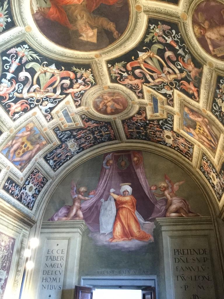 教皇の礼拝堂 ポントルモ