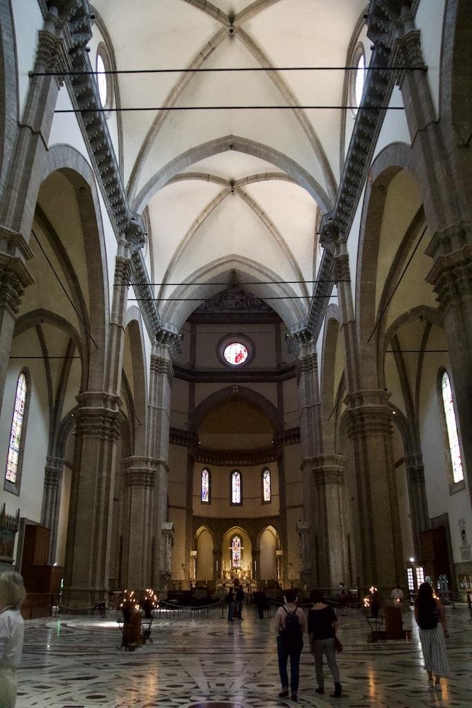 フィレンツェ大聖堂内部 ドゥオーモ