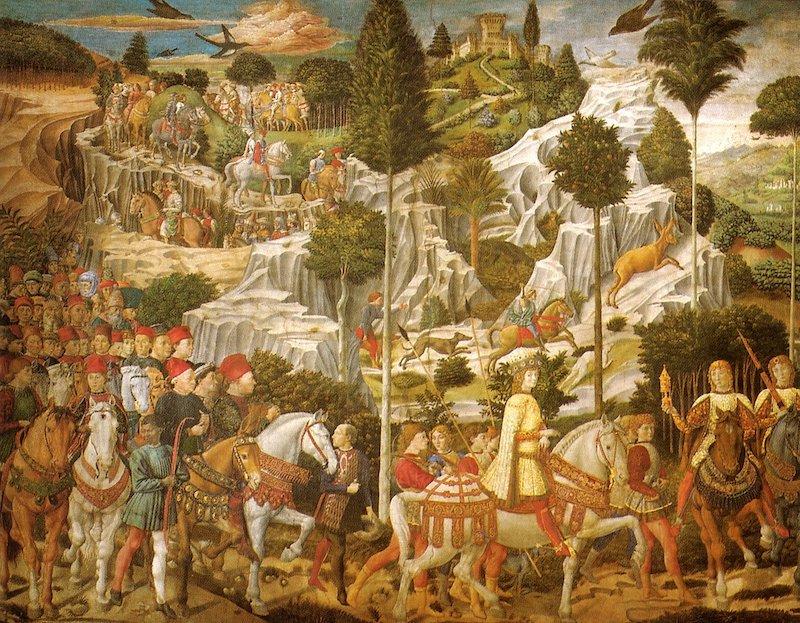 メディチ・リッカルディ宮殿 カヴァルカータ マギの礼拝