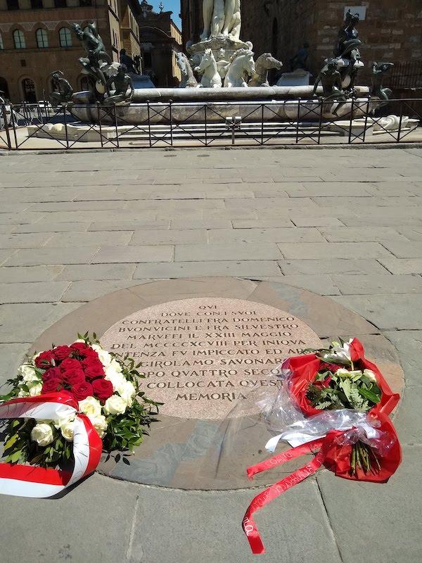 サヴォナローラの記念碑