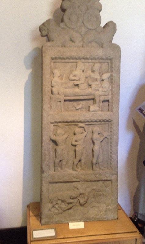 考古学博物館 石碑
